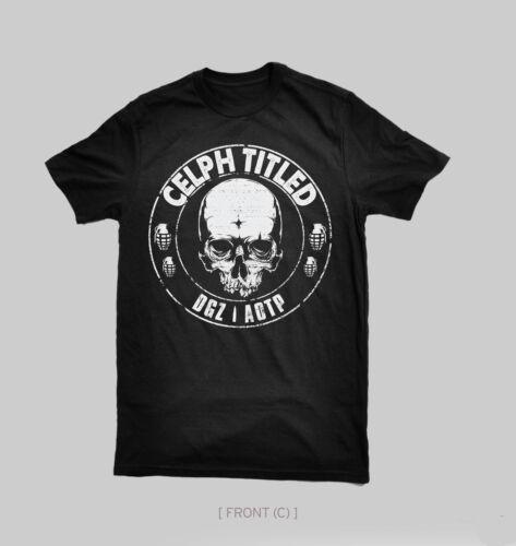 CELPH TITLED Skull Logo Tee DEMIGODZ ARMY OF THE PHARAOHS FORT MINOR DGZ AOTP