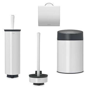 Brabantia-Sets-De-Bano-Blanco-conjunto-para-WC-Portapel-portarollos-Dispensador
