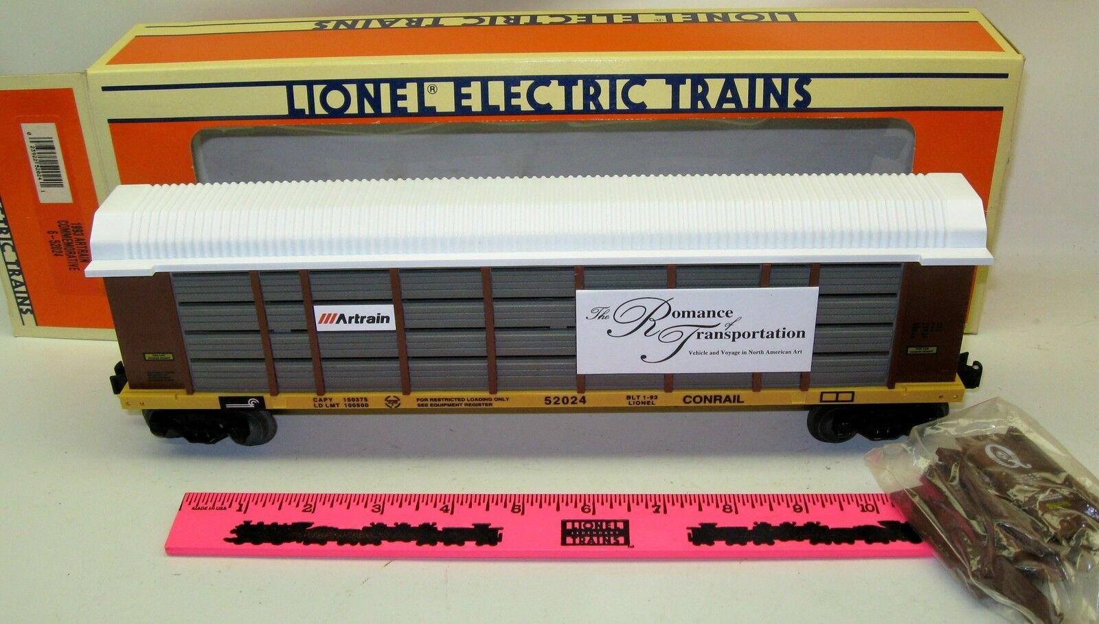 New Lionel 6-52024  1993  Artrain Commemorative