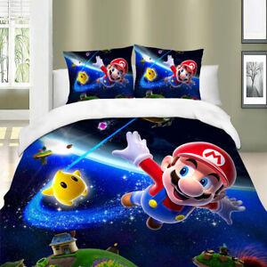 HD-Mario-Bros-Duvet-Cover-Set-Twin-Full-Queen-King-Size-Bedding-Set-Pillowcase