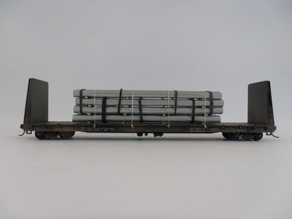 Ho - modell railroads & zge - gterwagen - rohr lasten