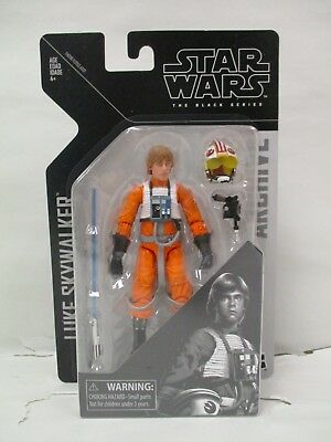 "Star Wars Authentic Black Series 6/"" inch Archive Luke Skywalker Loose complet"