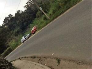 Terreno campestre a unos metros de carretera nueva a Coatepec