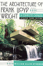 THE ARCHITECTURE OF FRANK LLOYD WRIGHT [ - WILLIAM ALLIN STORRER (PAPERBACK) NEW