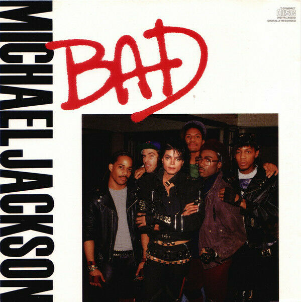 Michael Jackson - Bad  [ Electronic Rock Funk Soul Pop Synth-pop US Maxi Promo ]