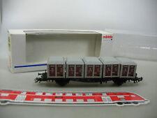 AG57-0,5# Märklin H0/AC 4767 Vagón transporte contenedores de Casa a DB NEM KK )