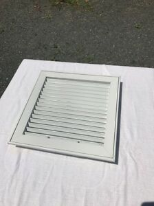 Image Is Loading 12 034 Ceiling Ac Square White Aluminum Duct