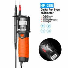 Pen Type Digital Multimeter Handheld 600v Acdc Volt Resistance Meter Bt 38b New