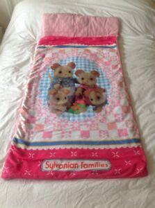 Sylvanian-Families-Childs-Saco-de-dormir-Saco-Rosa-Multi-Color-52-034