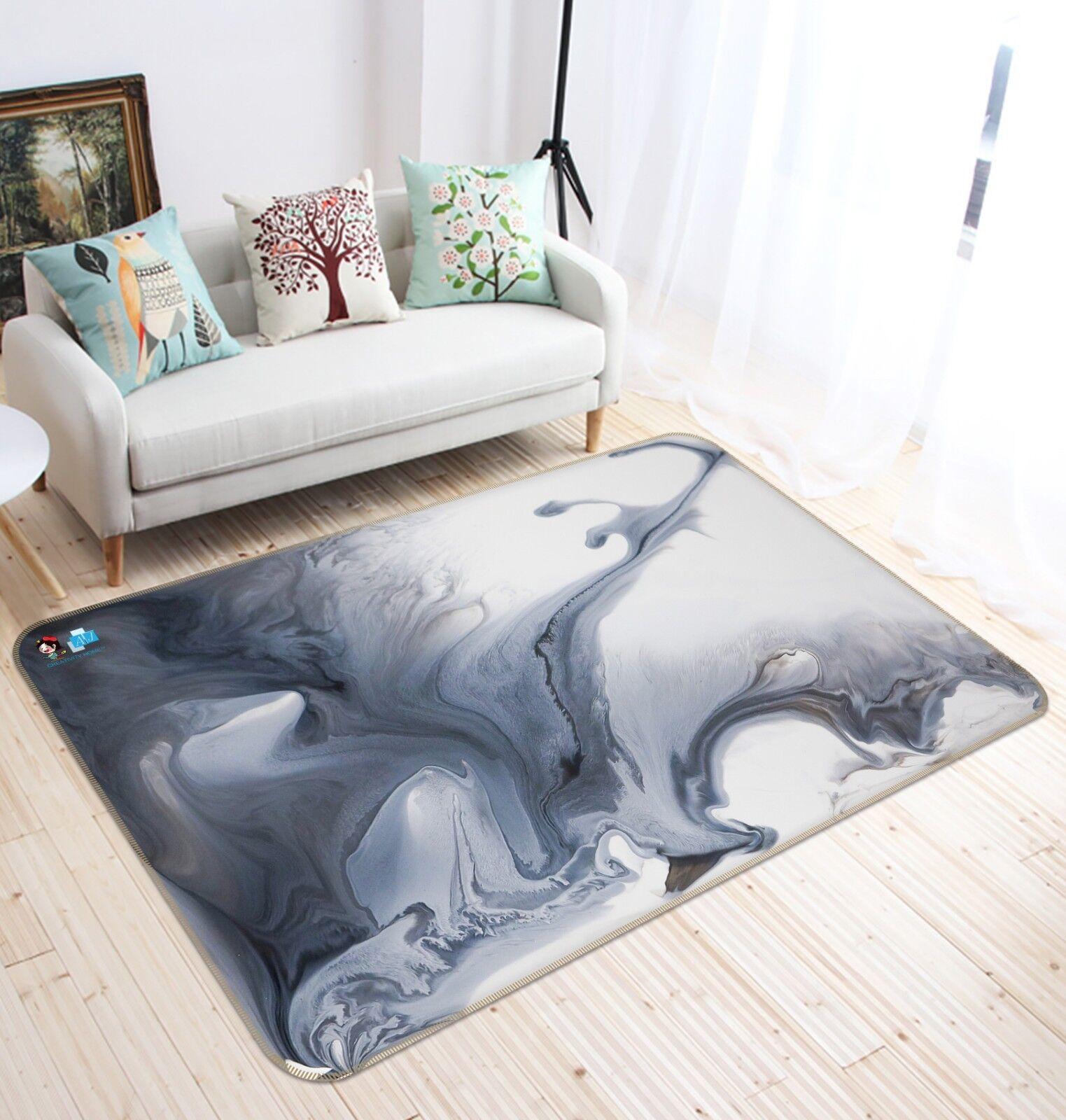 3D Abstract Painting 4 Non Slip Rug Mat Room Mat Quality Elegant Photo Carpet AU
