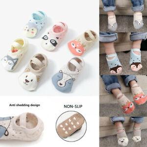 Warm Erste Wanderschuhe Socken aus Baumwolle Schuhe für Kleinkinder Baby Socken