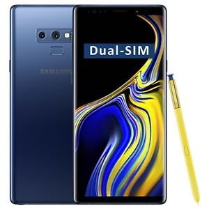 Factory New Galaxy ds Dual-sim Blue Details 512gb 4g Sm-n960f Note9 Unlocked Samsung Oem About