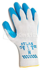 1 Pair Showa Atlas Fit 300 Rubber Coated Work Gloves Large Industrial Heavy Duty