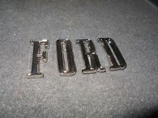 1967 FORD GALAXIE XL LTD 7-LITRE FACTORY FORD TRUNK DECKLID LETTERS SET NEW