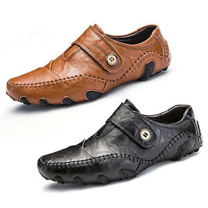 fashion mens driving moccasins shoes slip on loafers
