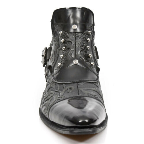 Herren New Rock NR M.NW135 S2 Schwarz Stiefel Vip