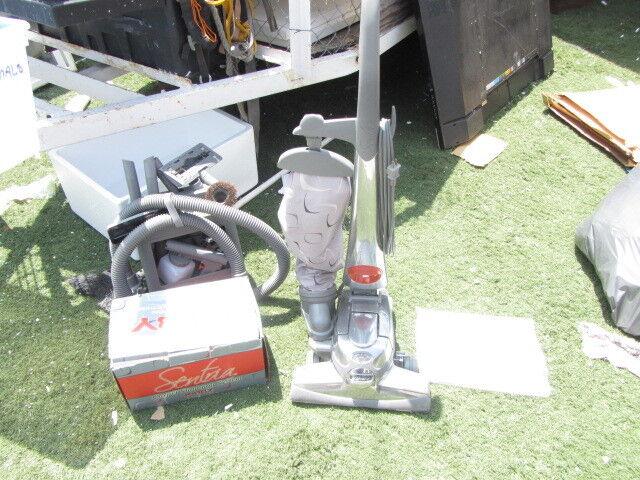 KIRBY SENTRIA VACUUM CLEANER MODEL G10D W  TOOLS & SHAMPOO SYSTEM