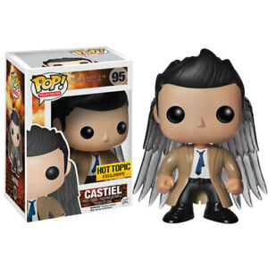 Television #95 Supernatural Castiel with Wings Funko Pop