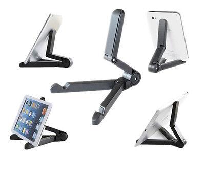 Foldable Adjustable Stand Bracket Holder Mount for Apple iPad Tablet PC Black CA