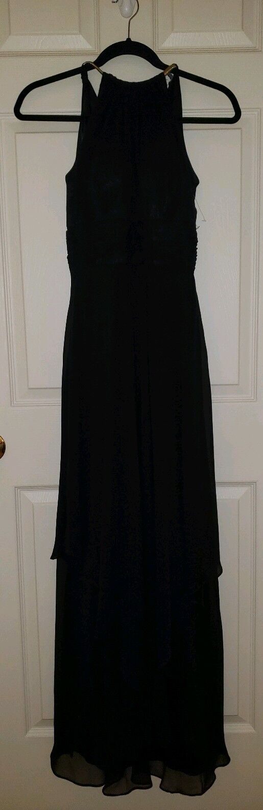 Eliza J, Full Length schwarz Gown, Größe 2, Never Worn.