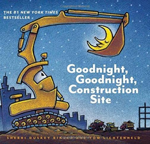 Rinker Sherri Duskey/ Licht...-Goodnight Goodnight Construction Site HBOOK NEW