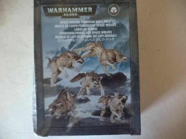 Torse x 5 Meute Space Wolves BITZ WARHAMMER 40000 40K