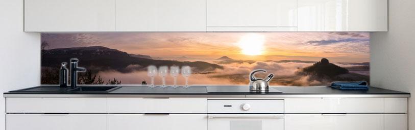 Küchenrückwand Küchenrückwand Küchenrückwand Alpen Sonne Premium Hart-PVC 0 4 mm selbstklebend 356b88
