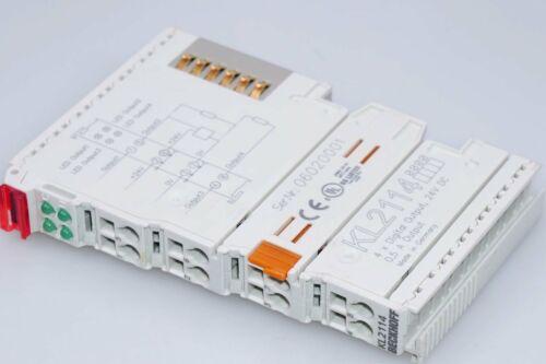 0,5A BECKHOFF KL2114 4-Kanal-Digital-Ausgangsklemmen 24 V DC