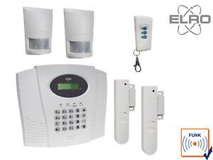 Funk-Hausalarmanlagen-Set-mit-Telefonwahlgerat-ELRO-Alarmtechnik-Hausuberwachung