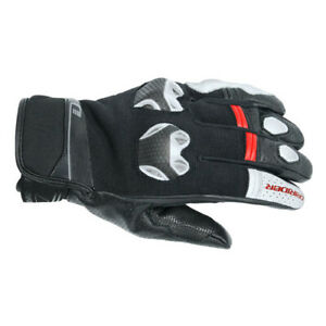 NEW-Motorcycle-Dririder-Fusion-Black-White-Summer-Road-Gloves-4004854-58