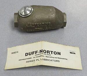 DUFF-NORTON Pneumatic Lubricator P/N: 420121