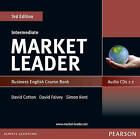 Market Leader Intermediate Coursebook Audio CD by David Falvey, Simon Kent, David Cotton (CD-Audio, 2010)