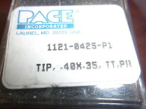 """5  IN PACK Pace 1122-0506-P5  TIP PS70 3//32/"""" CHISEL"""