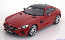 1:18 Maisto Exclusive Mercedes AMG GT C190 2015 red/black
