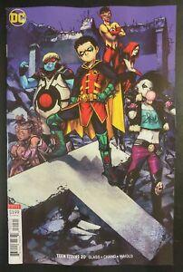 TEEN-TITANS-20b-2018-DC-UNIVERSE-Comics-VF-NM-Comic-Book