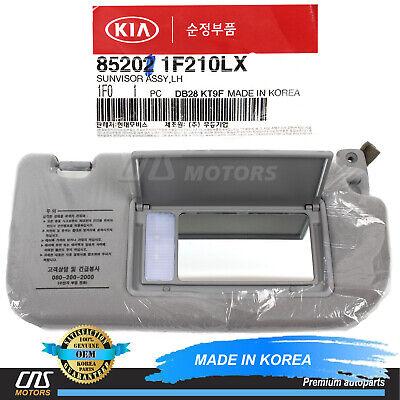 Genuine RH Passenger Sun Fabric Visor Gray Color For KIA SPORTAGE 2005-2010