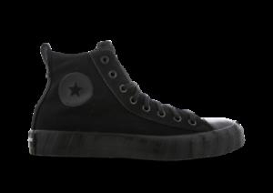 Converse-All-Star-UNT1TL3D-Hi-Size-9-Men-039-s-Trainers-Black-Shoes