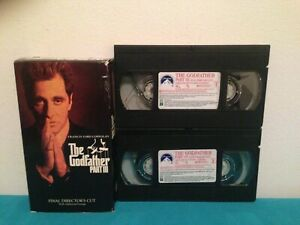 The-godfather-part-II-VHS-tape-amp-sleeve-2-tape-set