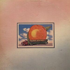 THE ALLMAN BROTHERS Eat A Peach LP 2xLP CAPRICORN STBO 94379 rare OG stereo VG+