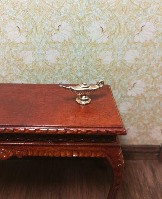 1//12 scale dollhouse metal miniature  ISL0907 oil GENIE LAMP Aladdin/'s