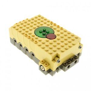 1-x-Lego-Technic-Electric-Record-amp-Play-Modul-Motor-4-5V-beige-tan-16x10x4-Aufna