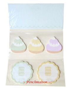 Laduree-French-Paris-MACARON-Pastry-6-Kinds-Sticky-MEMO-Notes-New-U-S-Seller