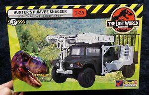 JURASSIC-PARK-THE-LOST-WORLD-HUNTER-039-S-HUMVEE-SNAGGER-1-25-HASEGAWA-MODEL-KIT