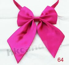 vintage butterfly bow tie Women sex dark pink Tie dancing wedding party #64