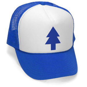 9a7953ba23a Gravity Falls - Dipper s Hat - Embroidered Trucker Hat 699996605926 ...