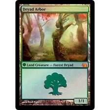 MTG FROM THE VAULT REALMS * Dryad Arbor (foil) - NM
