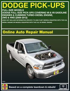 2011 ram 1500 haynes online repair manual 14 day access ebay rh ebay com 2011 ram repair manual Peoria Manual Rams