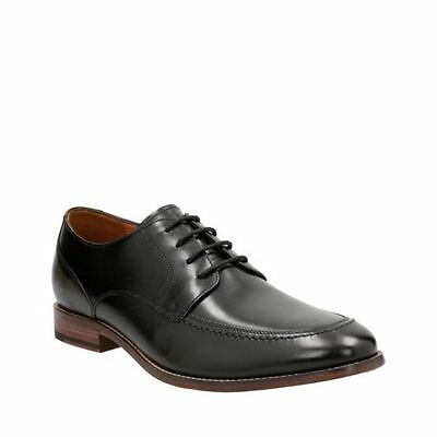 New Bostonian Mens Ensboro Pace Lace Up Oxford Black Leather 26125012