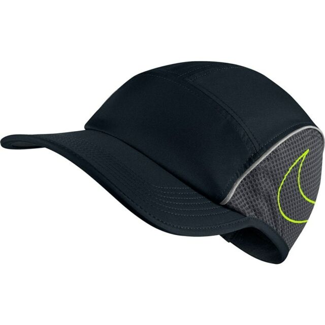 Nike Unisex Aerobill Aw84 Running Cap Adjustable Black anthracite ... 9cc5bfb74a8b