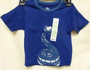 Kids Korner Boy's Toddler Short Sleeve Crew T-Shirt 4T Navy